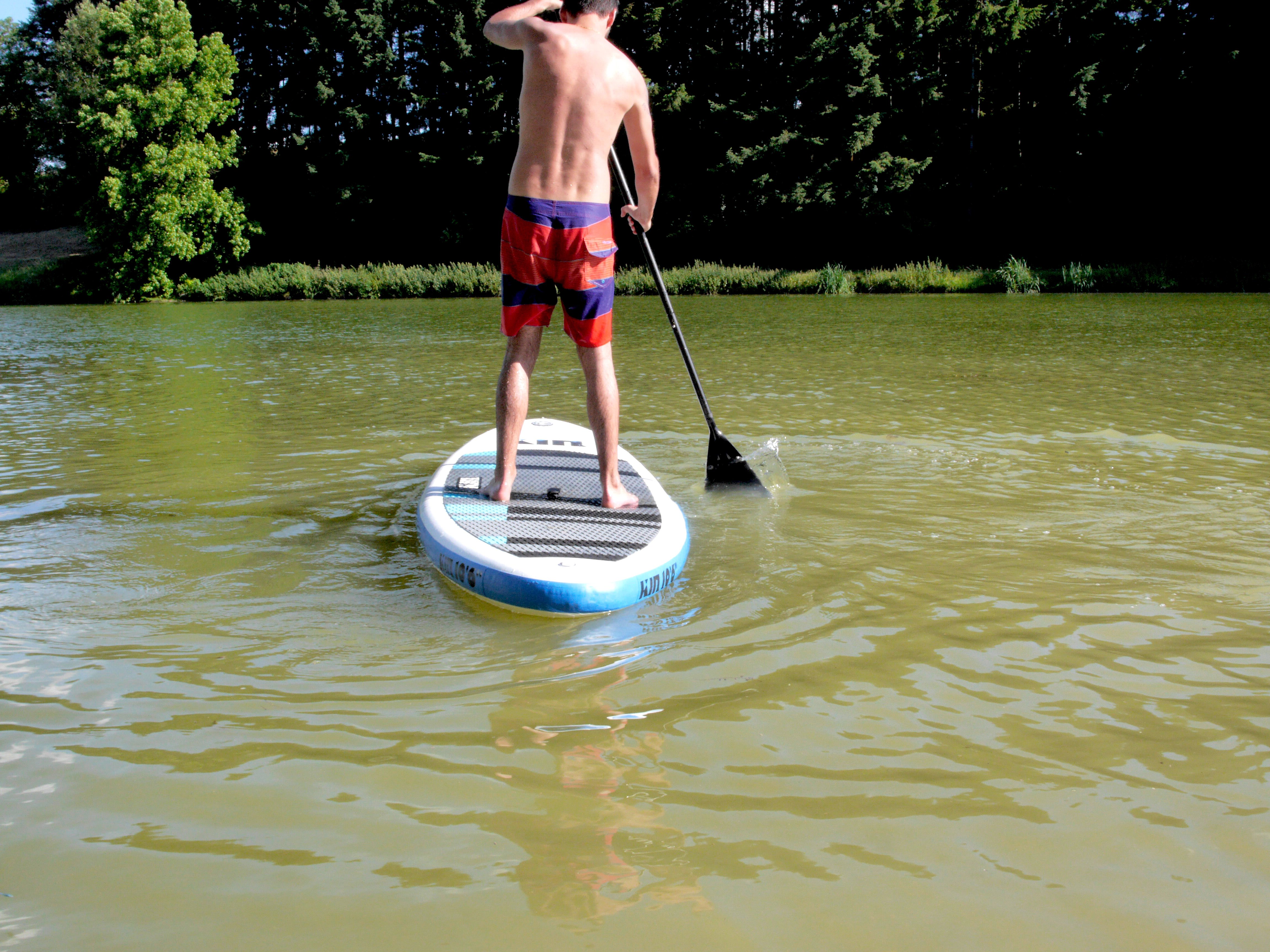 stand up paddle plan deau de cherveux